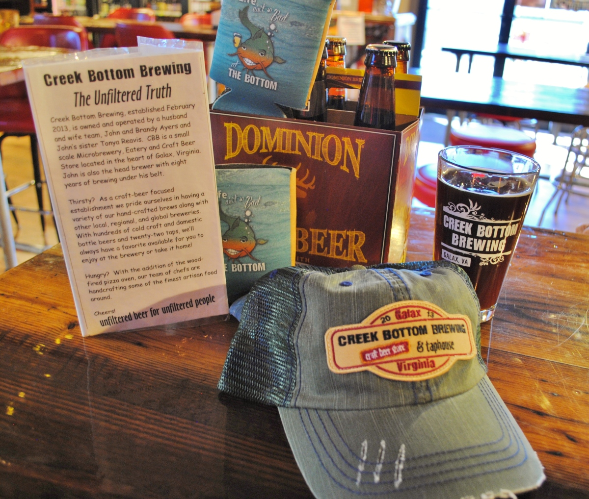 Creek Bottom Brews – Galax