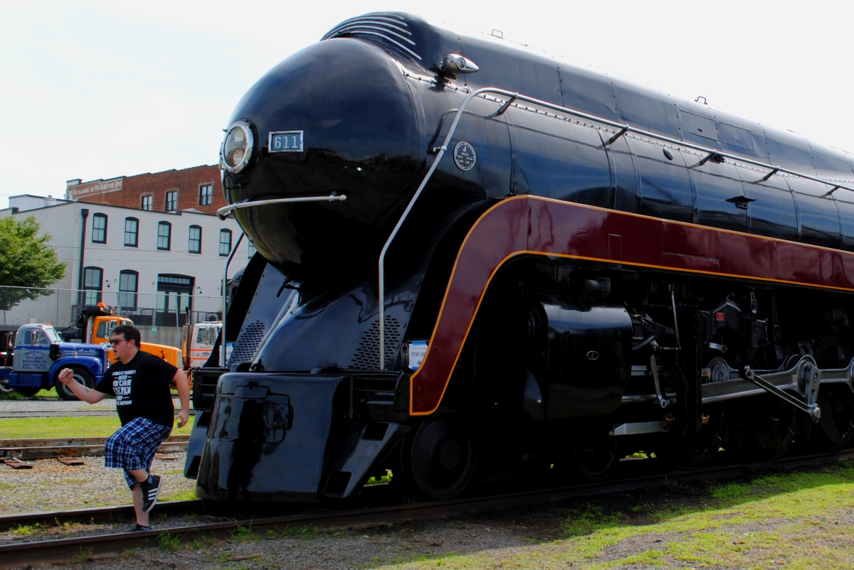 A Steam Engine in Roanoke