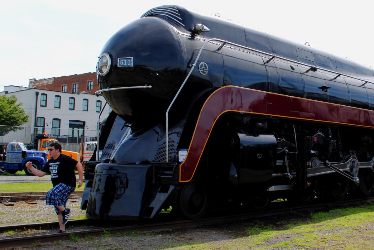 A Steam Engine inRoanoke