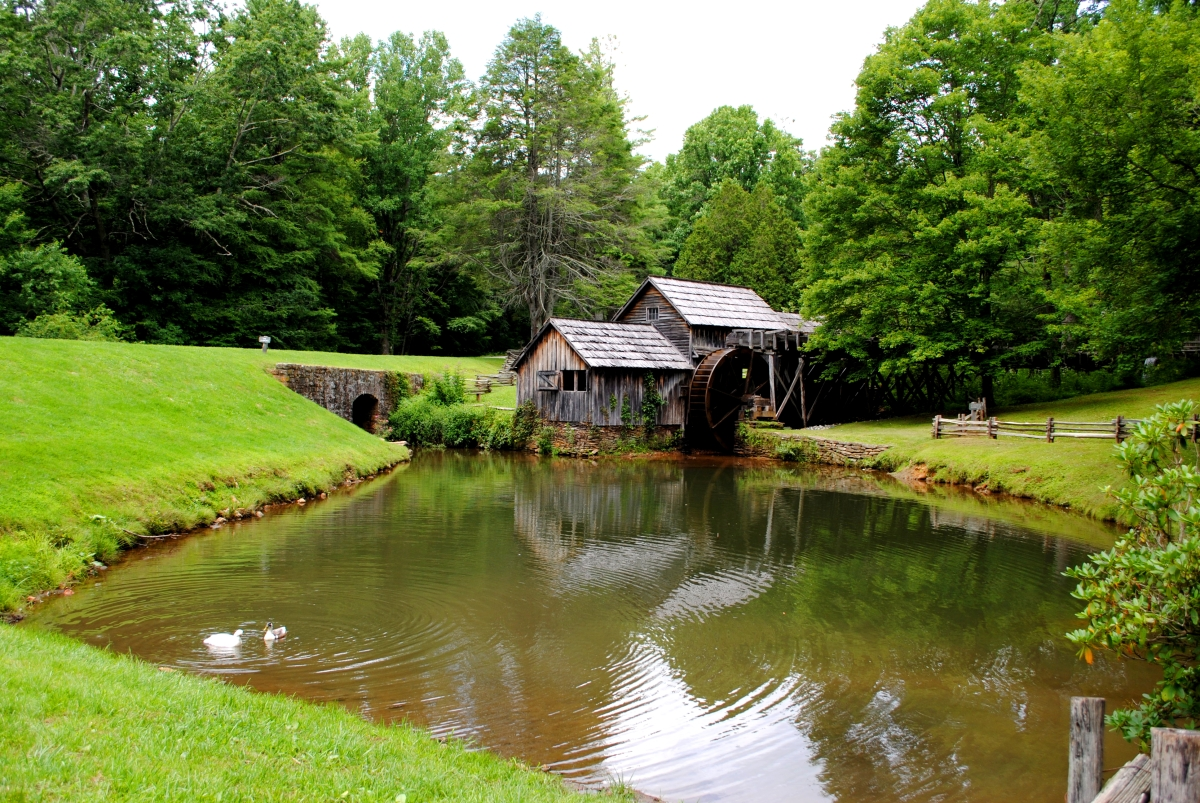 Most Photographed Mabry Mill