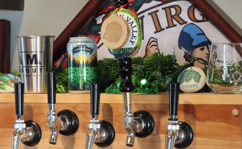 Tasting Rooms Taps at Mountain Valley Brewing