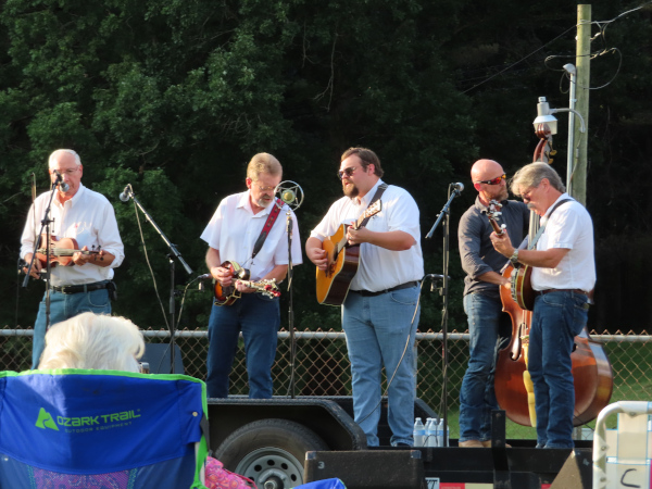 Travis Frye & Blue Mountain bluegrass band