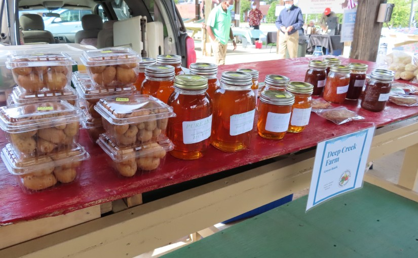 Martinsville's Uptown Farmers Market Appears to be Thriving