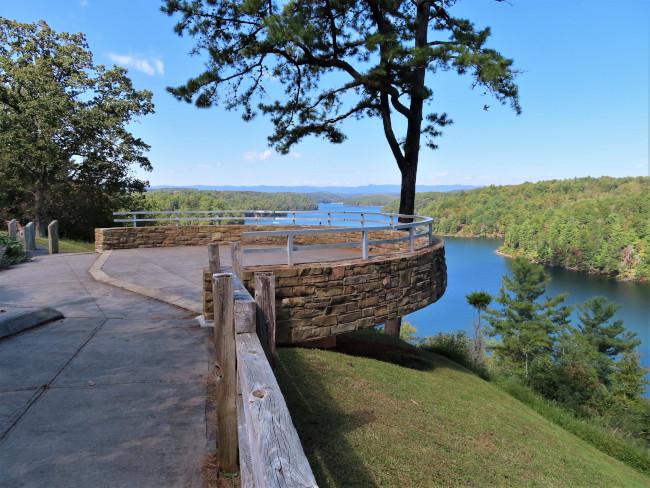 Observation Deck at Philpott Lake